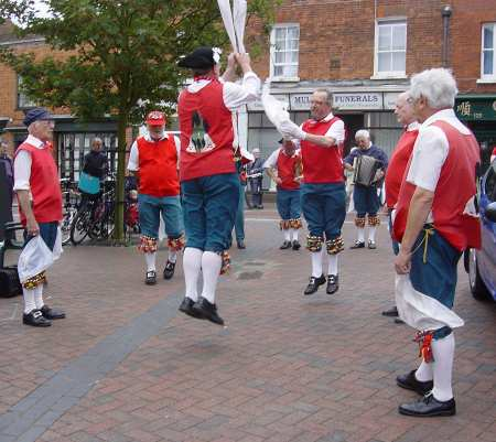 Cuphill Morris Men