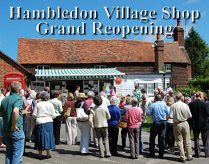 Hambledon Village Shop Opening