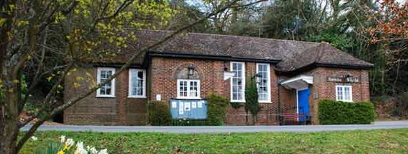 Hambledon village hall wedding