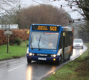 503 bus under threat again, January 2016 (2)