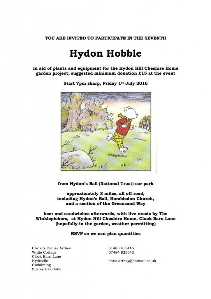 160701 hydon hobble flyer