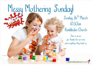 Messy Mothering Sunday 2017 poster