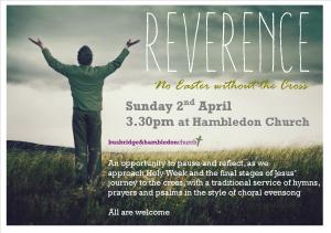 Reverence flyer 2017