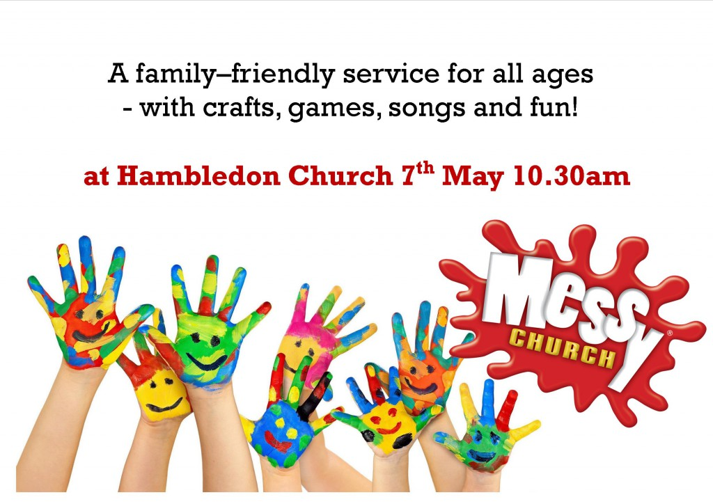 Messy Church Poster May 2017