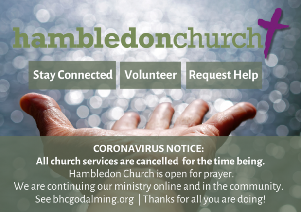 Hambledon Church Corona Virus update