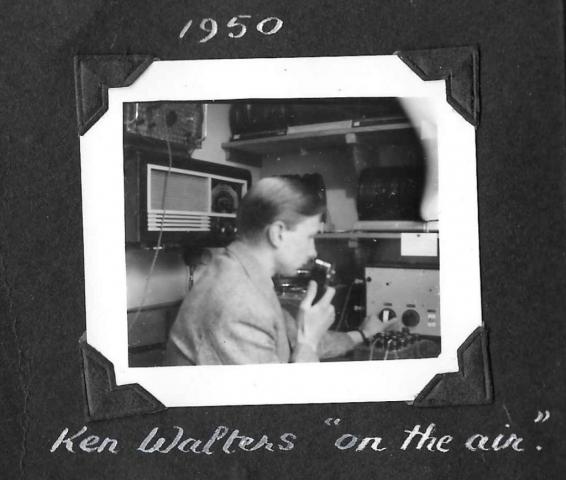 Ken Walters on air
